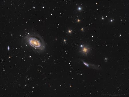 NGC4725 et cie
