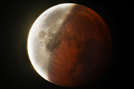 Eclipse totale de Lune du 28 septembre 2015
