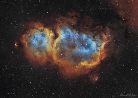 IC1 848 , La Nébuleuse de l'âme.
