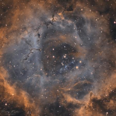 NGC 2237, la nébuleuse de la Rosette