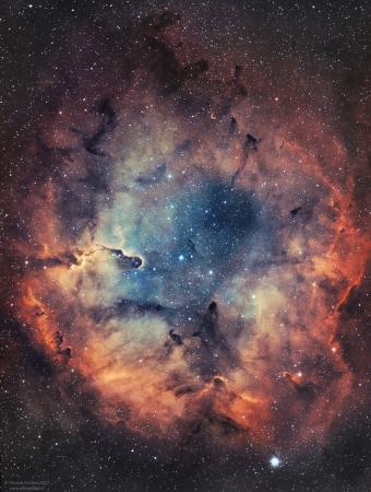 IC1396 et la nébuleuse de la Trompe d'Elephant