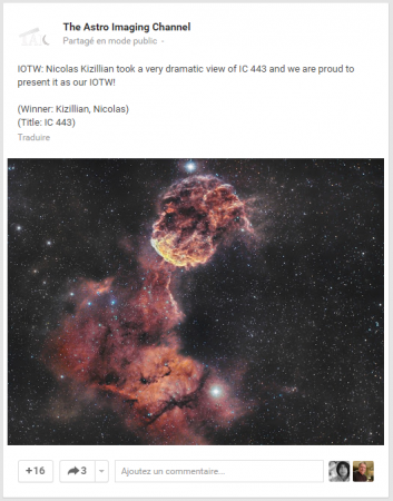 Image Of The Week, The Astro Imaging Channel, semaine 13/2016