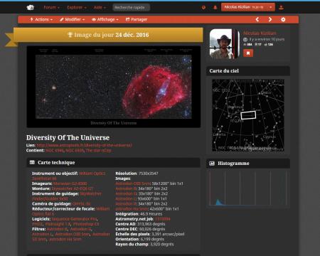 La diversité de l'univers - Astrobin Image Of The Day