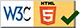 Site certifié HTML5 par le W3C