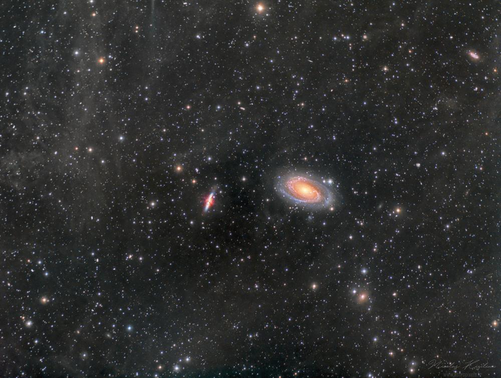 Du ciel profond à la Petite Ourse (et depuis Prague :) ) M81-82-IFN-Kizilian-1000-WM